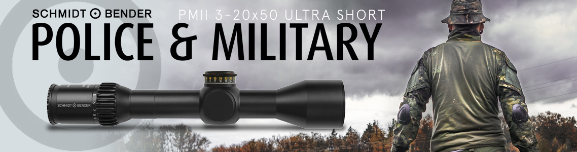 PM II 3-20x50 Ultra Short Riflescopes