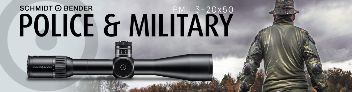 Schmidt Bender PM II Police Marksman Riflescopes