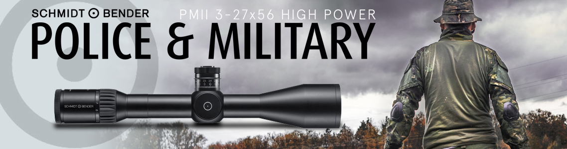 PM II 3-27x56 High Power Riflescopes
