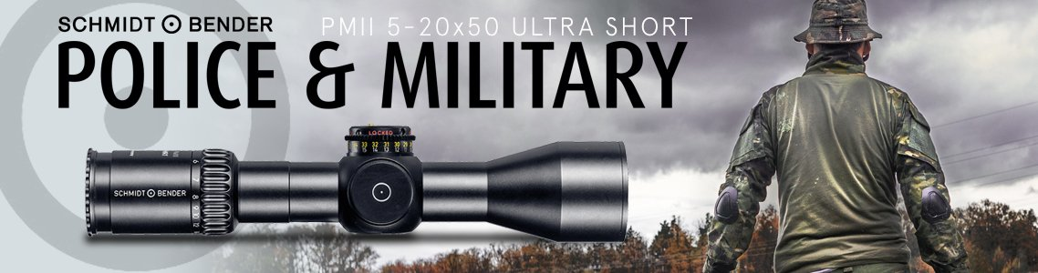 PM II 5-20x50 Ultra Short Riflescopes