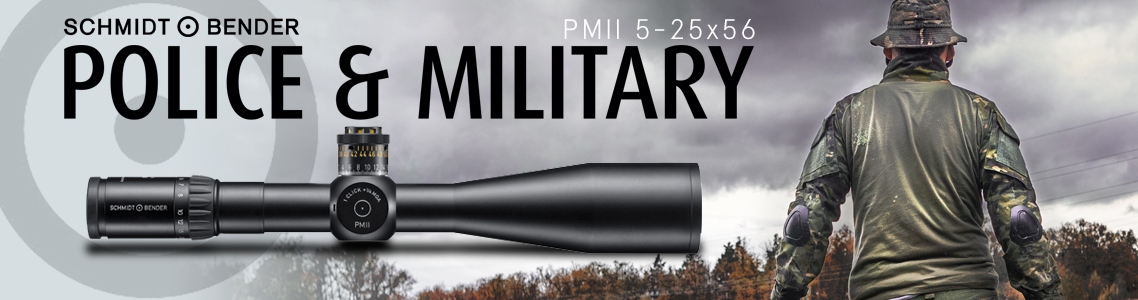 View All Schmidt Bender PM II 5-25x56 Riflescopes