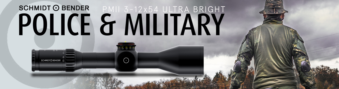 PM II 3-12x54 Ultra Bright Riflescopes