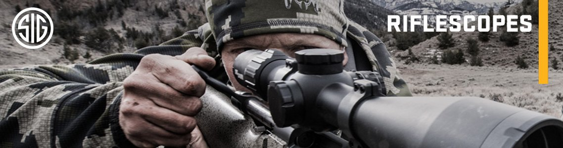 View All Sig Sauer Riflescopes