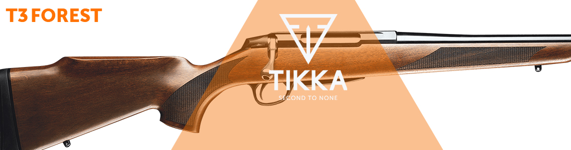 Tikka T3 Forest Rifles