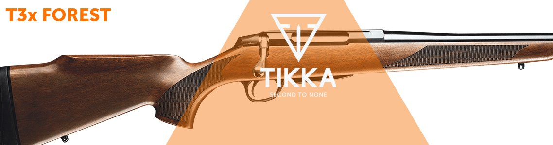Tikka T3x Forest Rifles