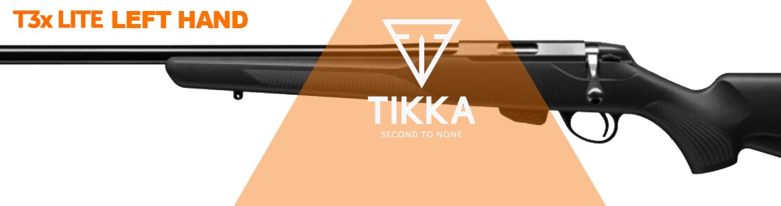 Tikka T3x Lite Left hand Rifle
