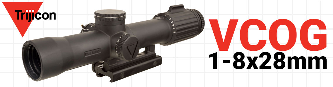 Trijicon VCOG 1-8x28mm Riflescope