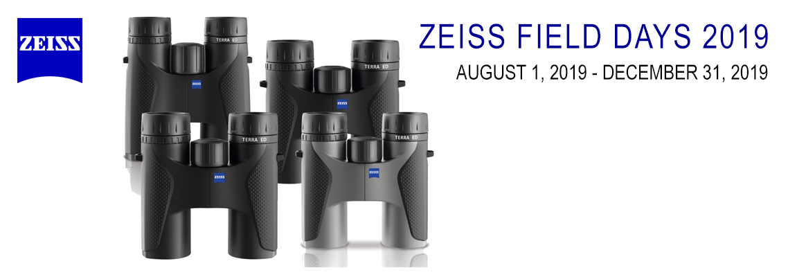 $50 Off Zeiss Terra ED Binoculars - Zeiss Field Days