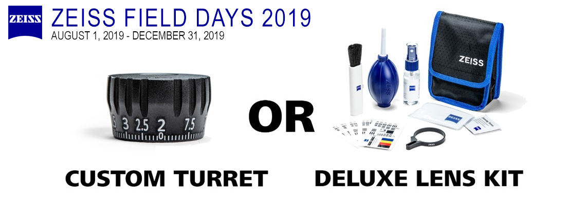 Zeiss V4 or V6 Free Gift Rebate - Zeiss Field Days!