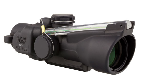 Trijicon 3x24 Compact ACOG Illum Amber Crosshair Ballistic 400224
