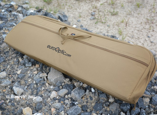 EuroOptic-embroidered Armageddon Gear case.
