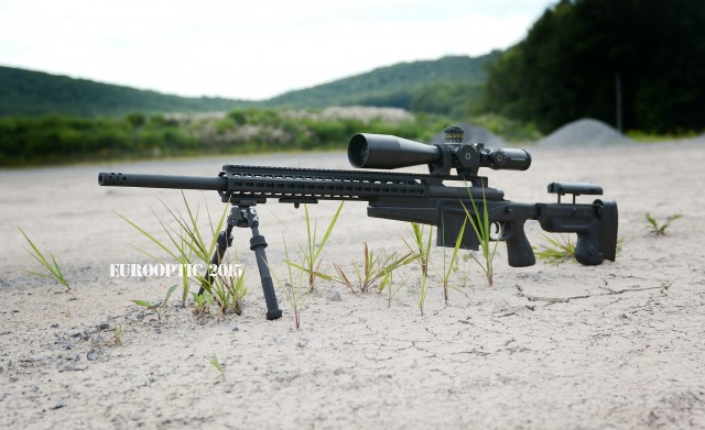 Remington 700P MLR with AI AX CIP chassis.