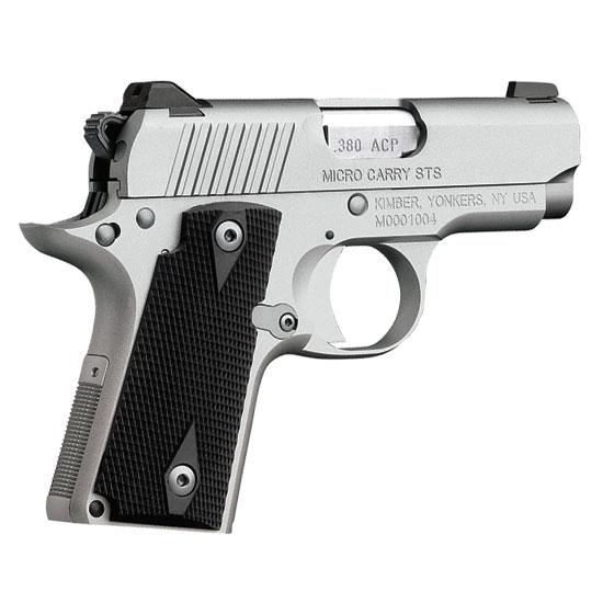 Kimber 1911 Micro Pistols: Kimber Micro Carry Stainless .380 ACP Pistol 3300083 For