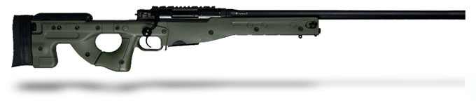 Accuracy International AE MK III 6-5 Creedmoor 26 inch Plain bbl Green Fixed Stock