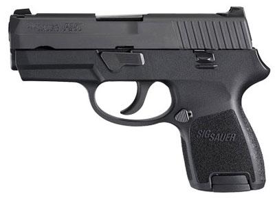 Sig Sauer P250 SubCompact  45 ACP Pistol 250SC-45-B
