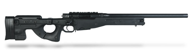 Accuracy International AE MK II .308 Win 20 inch Plain bbl Black Folding Stock AE30820PL0M1PFO0BBLACFB0F0N