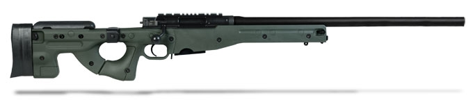 Accuracy International AE MK III 243 Winchester 26 inch Plain bbl Green Folding Stock AE24324PL0M1PFO0BGRACFB0F0N