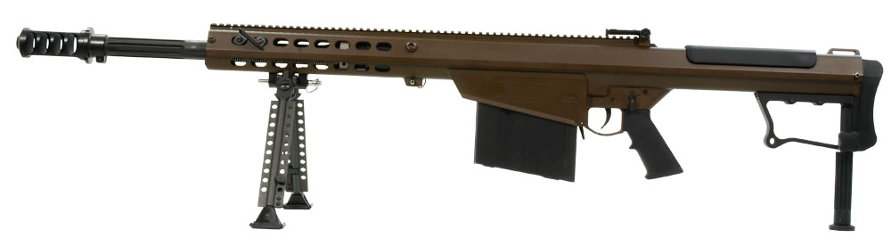Barrett M107A1 50 BMG Multi Brown Rifle 14556