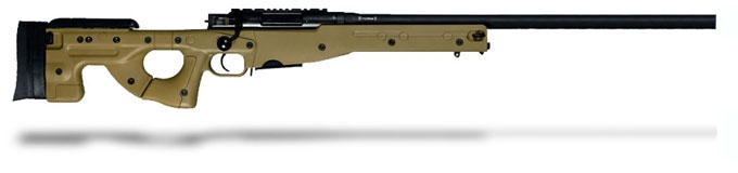 Accuracy International AE MK III 6-5 Creedmoor 26 inch Plain bbl Dark Earth Fixed Stock