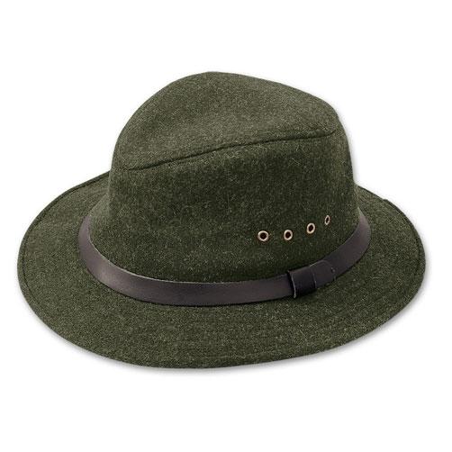 Filson Packer Hat: Filson 2XL Forest Green Wool Packer Hat 60025 For Sale