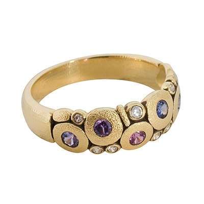 796b1e1c888c5 Alex Sepkus 18K Sapphire and Diamond (Purple & Violet)