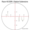 Vortex Razor HD 5-20x50 EBR-1 reticle