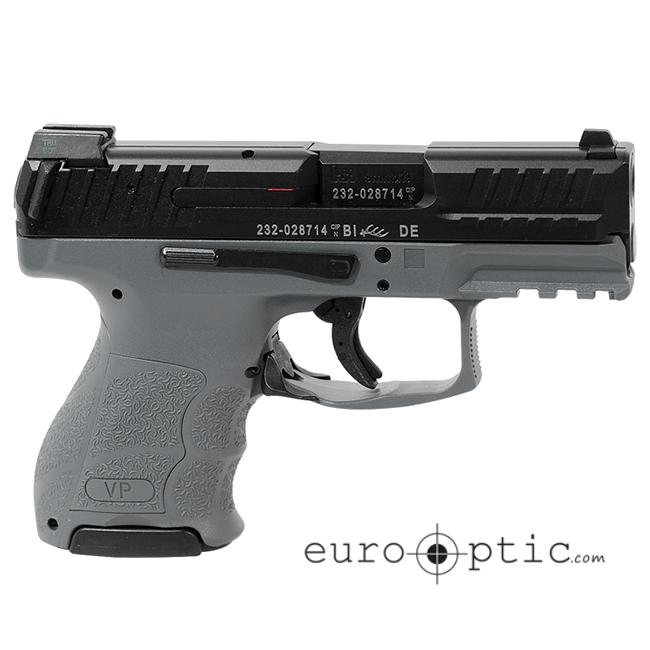 HK VP9SK Subcompact 9mm Grey (3) 10rd Magazines & Night Sights 81000100