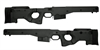 AICS Accuracy International Chassis System Long Action 2.0  Folding  Stock Black .338 Left Hand