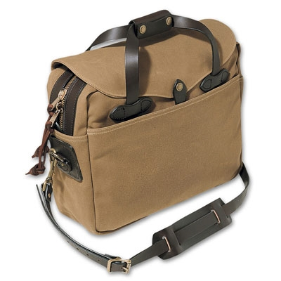 Filson Tan Briefcase Computer Bag Fil 70257 Tn