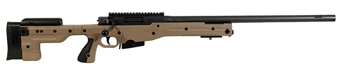 Accuracy International AT Rifle Fixed Pale Brown Stock 308