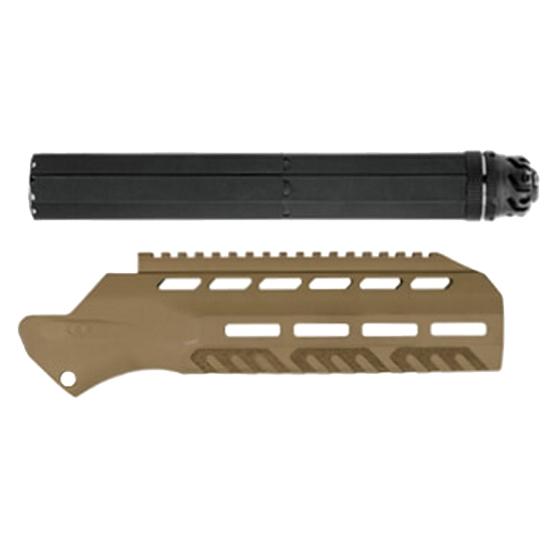 Desert Tech DT/OSS MDR 7.62 Suppressor Kit W/FDE Handguar