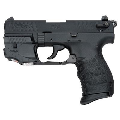 Walther P22  22lr Black Laser Set 5120329