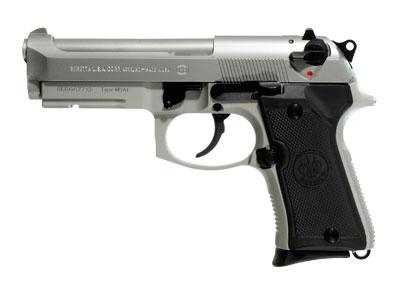 Beretta 92FS INOX Compact 9mm Pistol J90C9F20