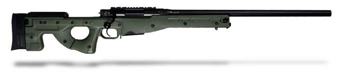 "Accuracy International AE MK III .308 Win 24"" Green Fixed Stock-UA744"