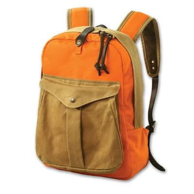9578b1f36346 Filson Twill Orange Tan Backpack FIL-70083-UT for sale! - EuroOptic.com