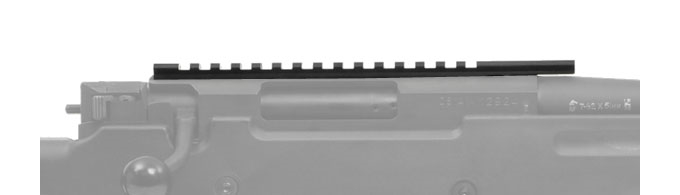 Accuracy International AW Picatinny Rail (Rifle Option)
