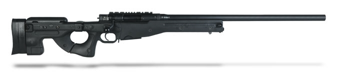 Accuracy International AE MK III 243 Winchester 26 inch Plain bbl Black Folding Stock AE24324PL0M1PFO0BBLACFB0F0N