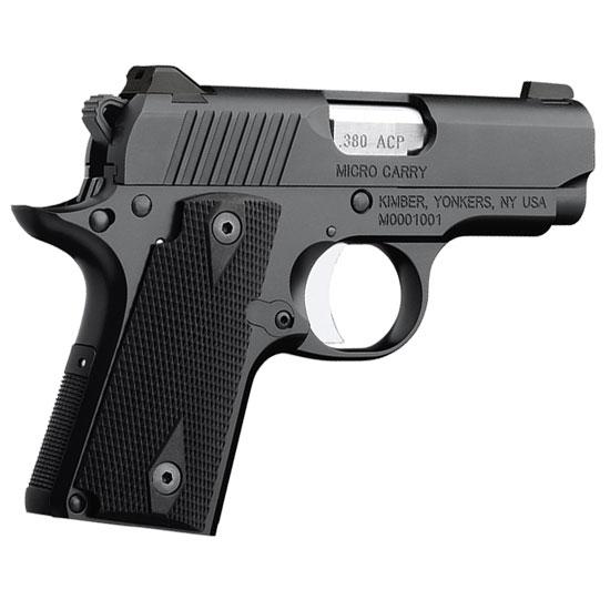 Kimber 1911 Micro Pistols: Kimber 1911 Micro Carry .380 ACP Pistol 3300082 For Sale