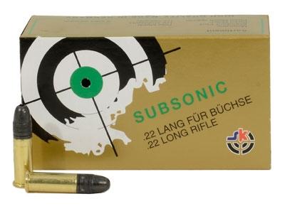 Lapua SK  22LR 40gr HP Subsonic Ammo 420110