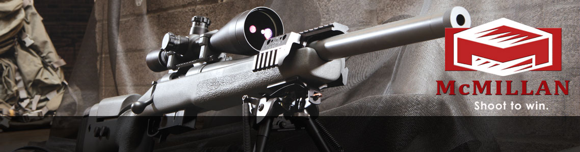 McMillan Rifles in stock at Eurooptic.com