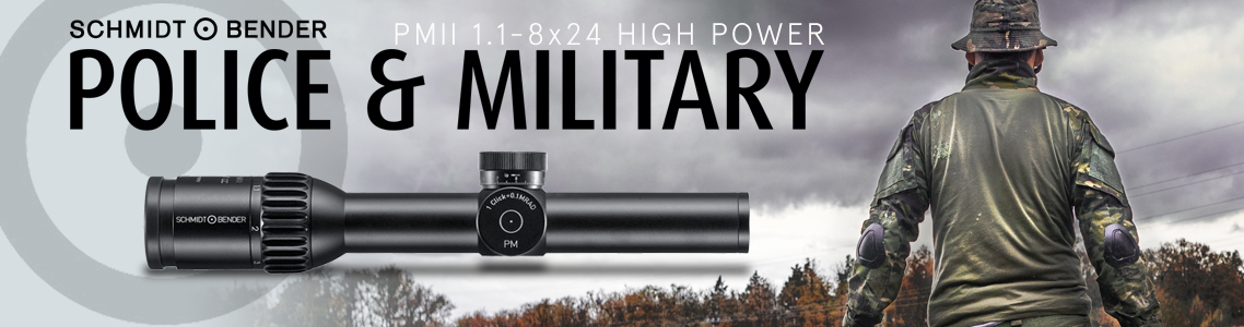 PM II 1.1-8x24 High Power Riflescopes