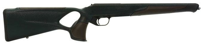 R8 Professional Success Green Thumbhole Stock Receiver With Leather