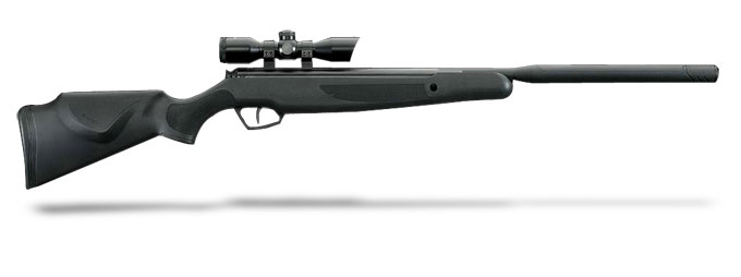 Stoeger X-20 S Black Synthetic Monte Carlo Stock and 4x32 Illuminated Red/Green Scope-.22 Cal./1000 FPS.  MPN 30405