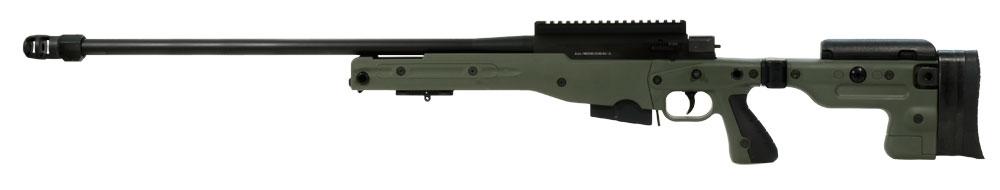 Accuracy International AT Rifle - Folding Green Stock - 308 Win 26 inch threaded bbl std brake - small firing pin - R11020-CR AT-308RFOGRQ26THSM