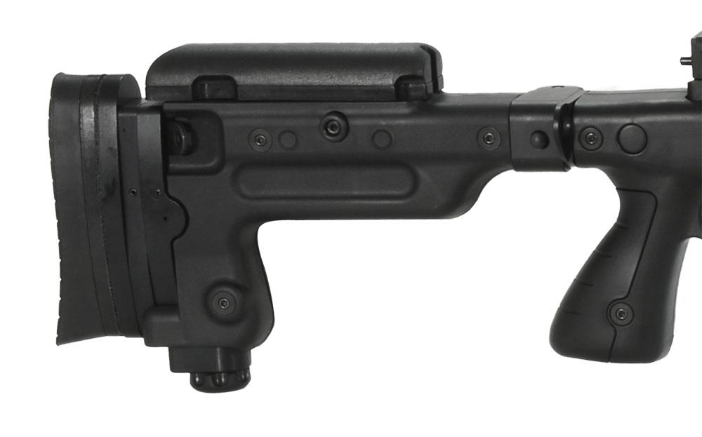 Accuracy International AX338 Black Rifle