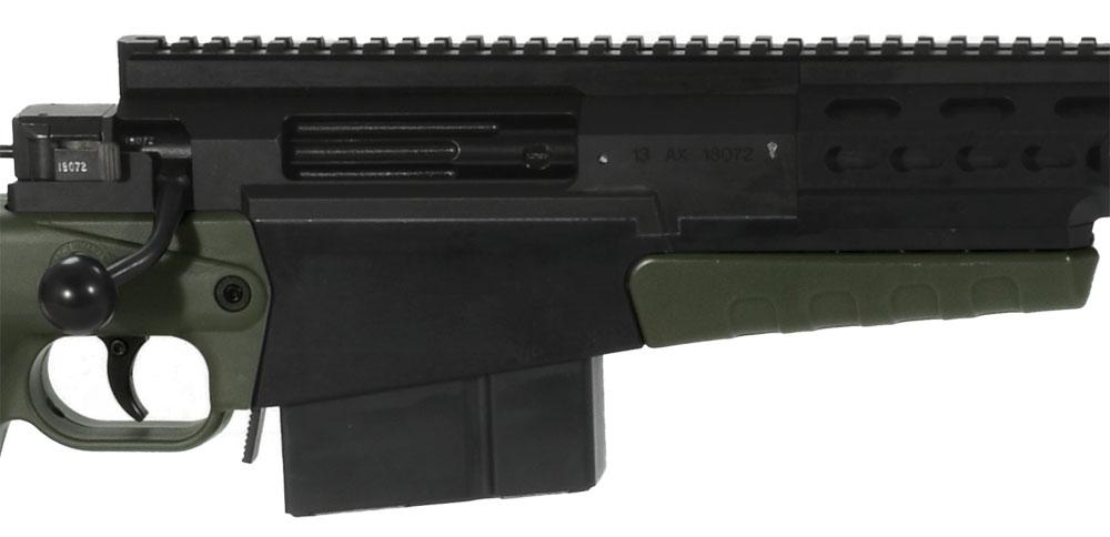 Accuracy International AX338 Green Rifle