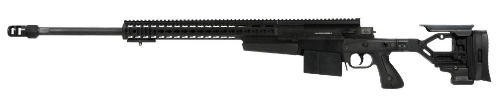 Accuracy International AXMC .338 Lapua Black Rifle