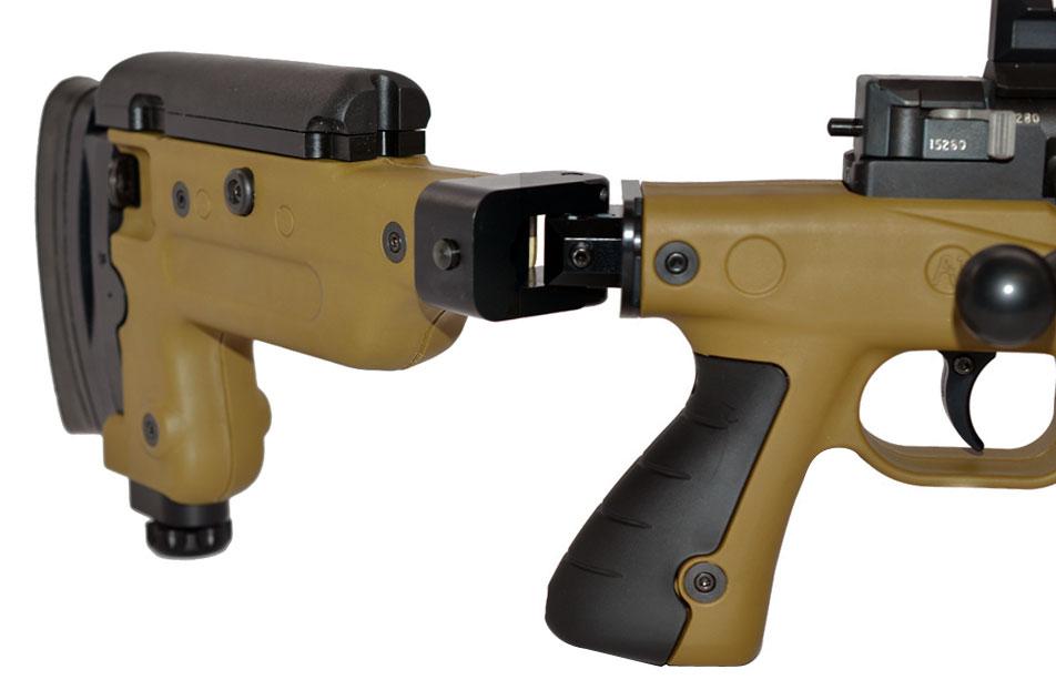 Accuracy International AX338 Dark Earth Rifle