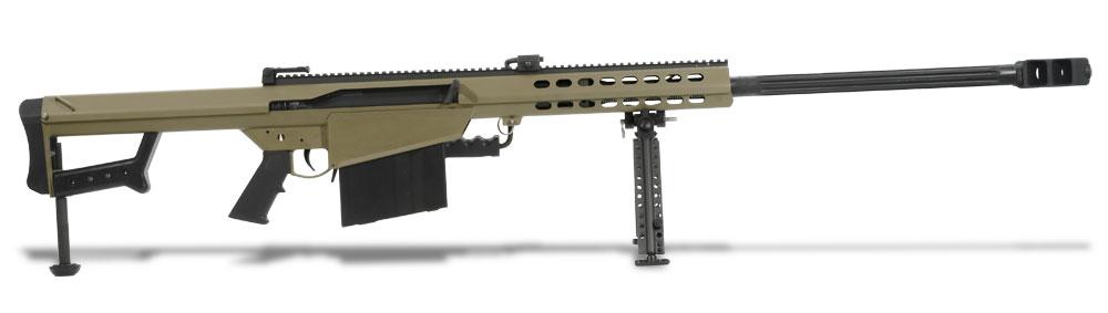 Barrett Model 82A1 50 BMG Tan Rifle 14031