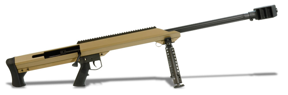 Barrett M99 .50 BMG Tan Rifle 14032
